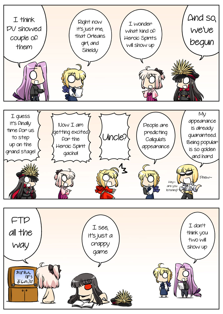 Fate/GUDAGUDA Order Chapter2