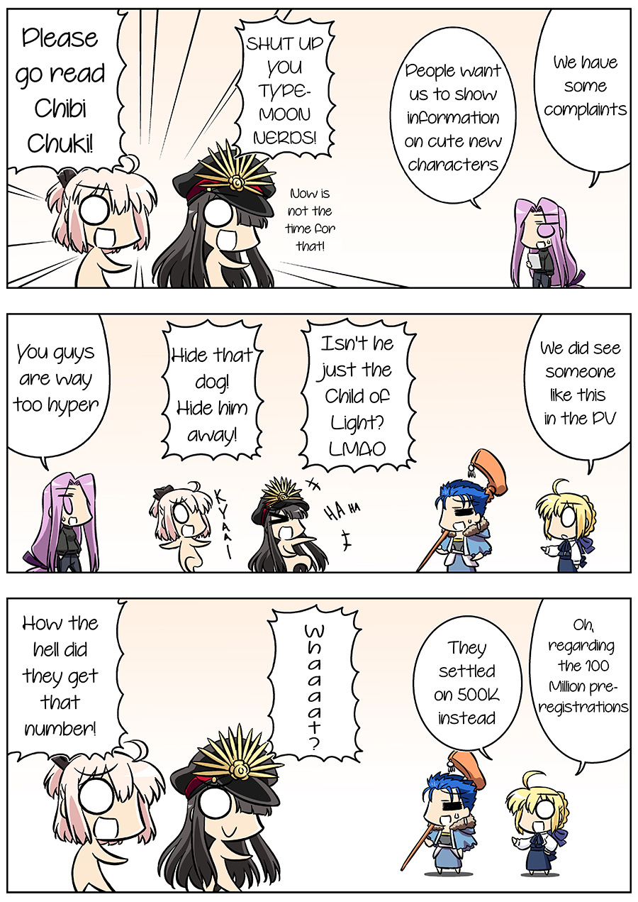 Fate/GUDAGUDA Order Chapter4