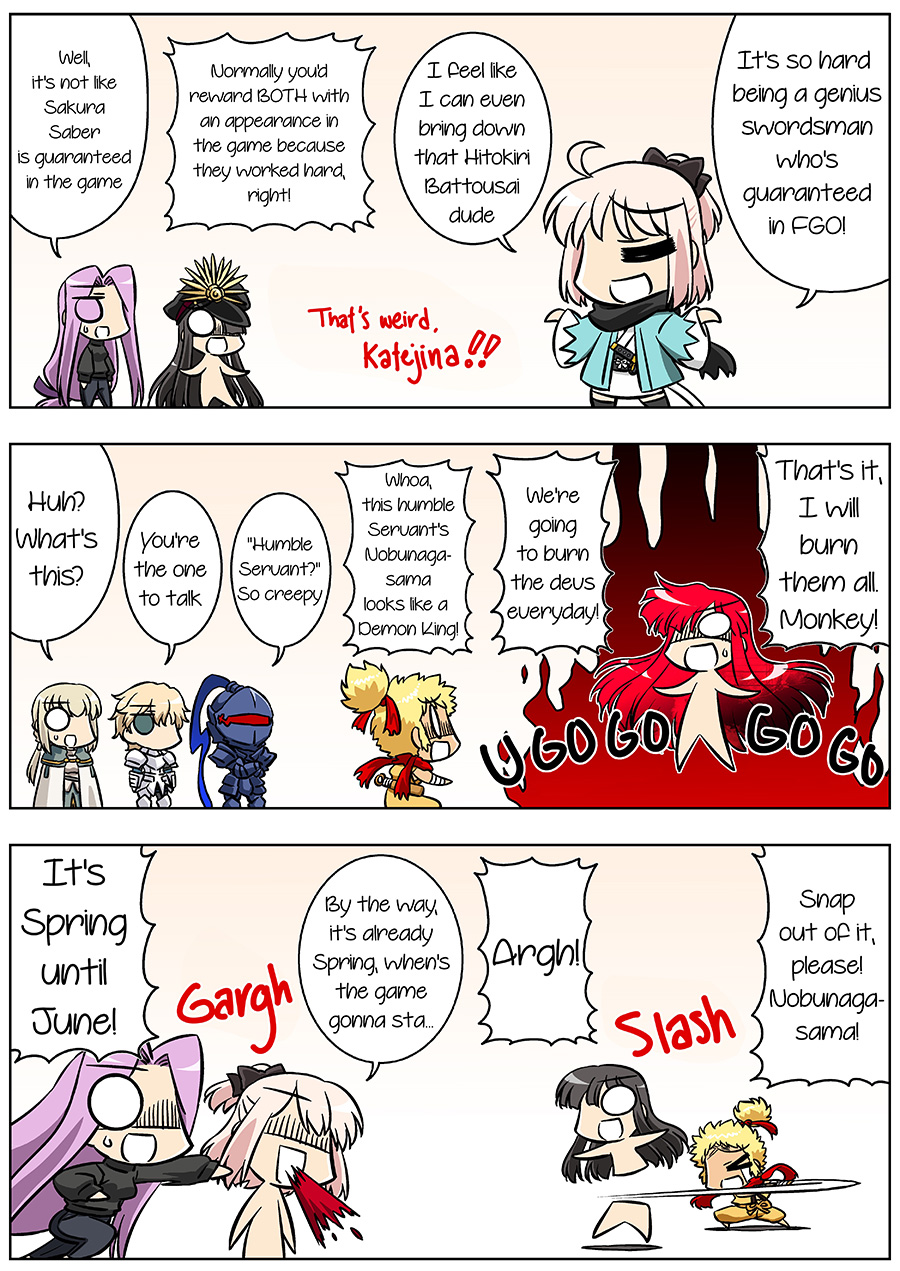Fate/GUDAGUDA Order Chapter9