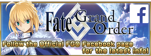 Follow the Official FGO Facebook