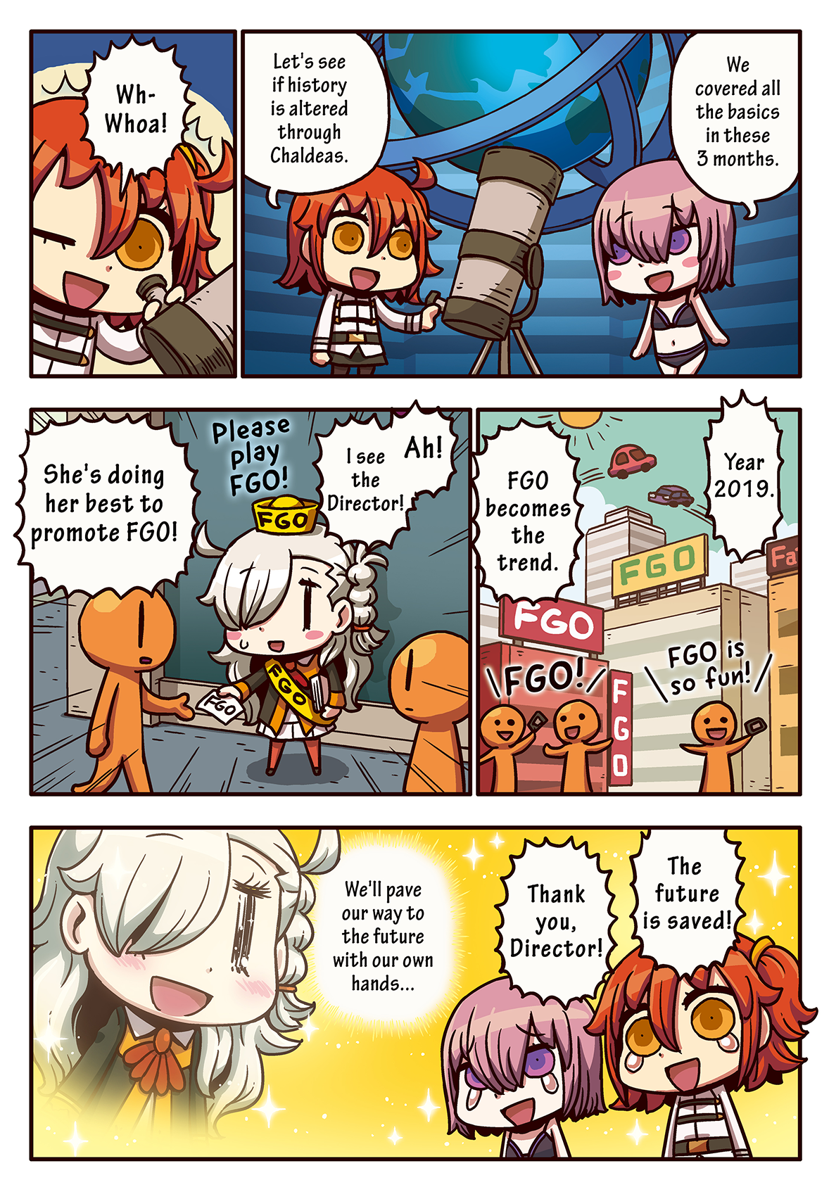 Episode 15: I Learned with Manga, Fate/Grand Order
