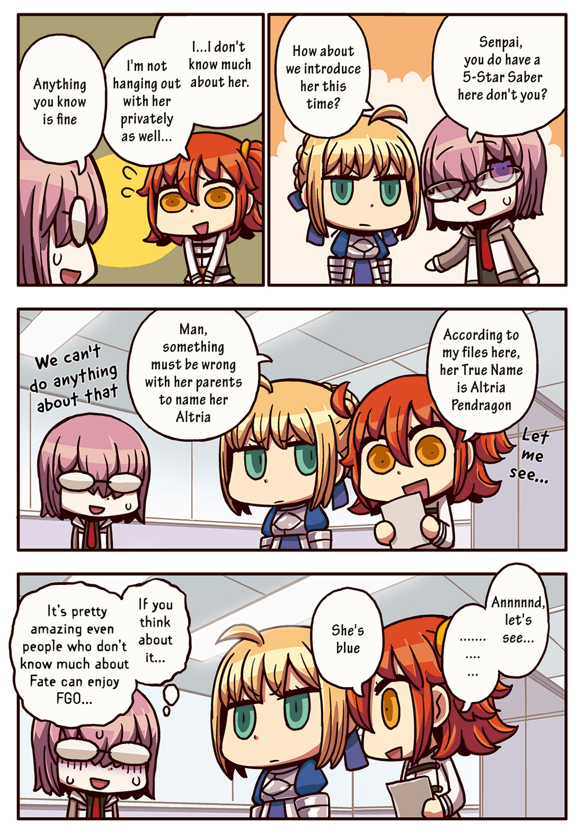 Episode 3 More Learning with Manga! Fate/Grand Order